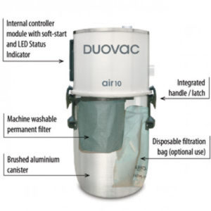 DuoVac Air 10 Power Unit Central Vacuum Review (US & Canada)