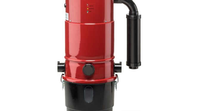 Prolux CV12000 Central Vacuum Power Unit Review in Red, White