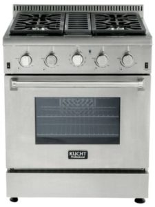 Kucht Krg3080u Lp Propane Range Review Natural Comparisons