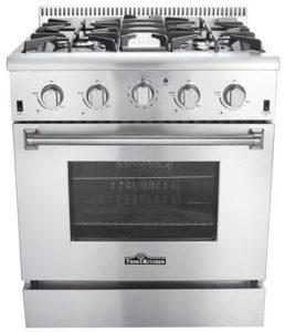 Thor Kitchen HRG3026U Gas Range Review, HRG3080U Comparison ...
