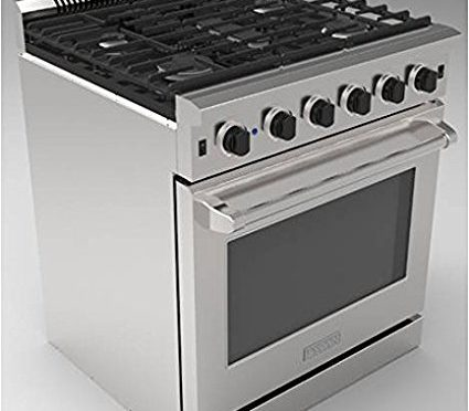 Thor 30 Professional Style Stainless Steel Gas Range Oven with 5 Burner LRG3001U,
